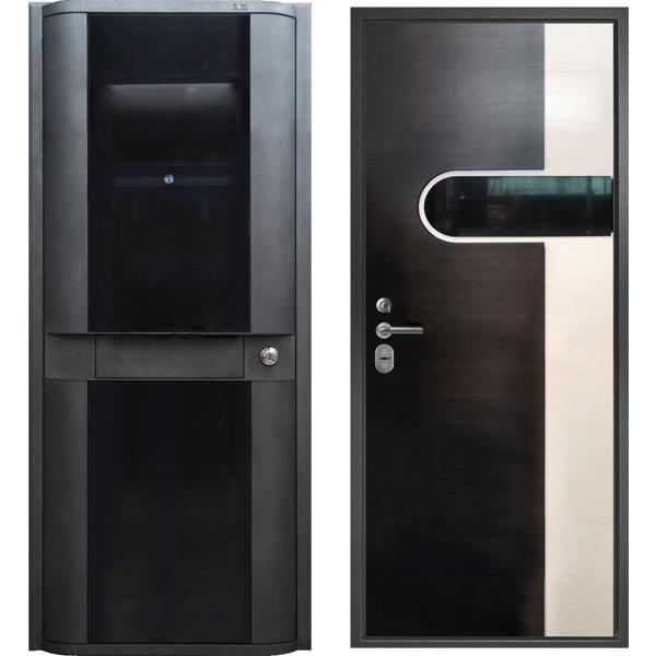 уличные металлические двери 2050 х 950 дешево в москве